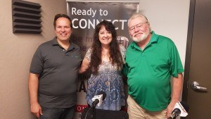 Dodie and Ron Long with Park Smarts for Kids and Peter Gantner with kulaBrands