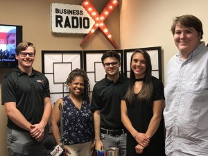 Biz Radio U Featuring Life Coach Rebecca Robinson and Keep Moving Forward Host Katy Galli