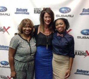 Patricia Harris, Jessica Mills, Tiffany Hale Carter