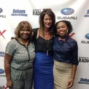 Patricia Harris with True Hearts Travel & Dream Vacations, Tiffany Hale Carter with Tiffany Hale Carter Design Firm, Jessica Mills with Keune Haircosmetics