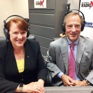 Sue Wyatt & Mike Dunlap with BrandBank