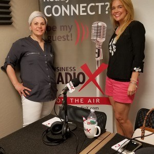 Heather Rausch with FoxFire Events and Shatha Barbour with Hera Hub