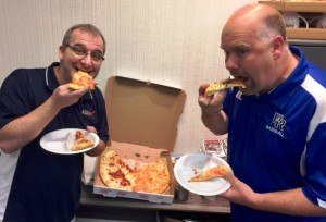 Grandma's NY Pizza is absolutely Trey and Steven APPROVED!
