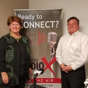 Deborah Johnson with High-Stakes Communication and Jim Hall with Crexendo
