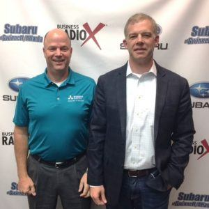 Steve O'Brien with Mitsubishi Electric Cooling & Heating and Will Hall with HIPnation