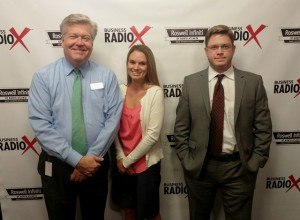 Tracy Stowell with The Rhoads Group and Grant Brim with Brim Law