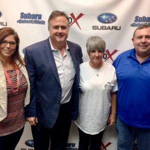 PARTNERS FOR SUCCESS: Shawn Buffaloe with The Buffaloe Group and Elaine Smith with Blazers of Lexington