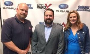 Steven Julian, Jeff Evans and Tiffany Krumins