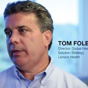 Tom Foley with Lenovo Health