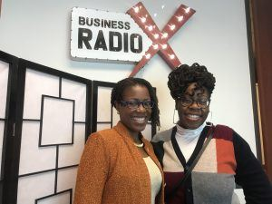Dethra Giles with ExecuPrep and Ify Ifebi with Vendorspace