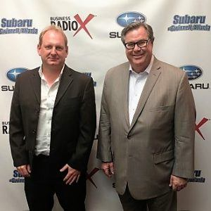 Steve Kendrick with SELECTsi Automotive and Dirk Steiner with YXLON