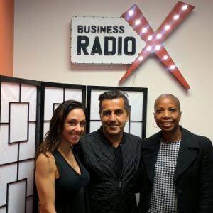 Joseph Golshani and Elana Madrid with Joseph and Friends Salon