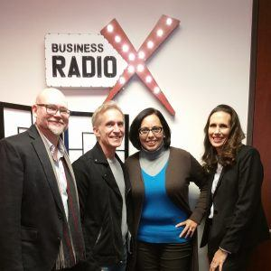 John Rich and Jerry Hudson with Moxie and Angelica White and Kim Moten-Bogan with ZIPPYAR
