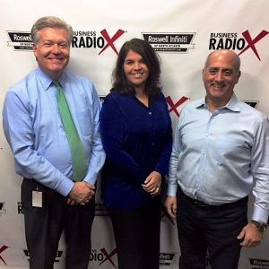 Paul Cammisa with InnoVergent and Joanne Sanders with EWISE Communications