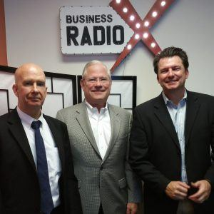 Tim O'Connor with Terraform Group, Jim Cichanski  with Flex HR and Robert E. Turner with Turner Law