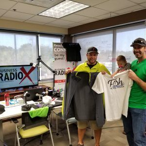 Pensacola Business Radio: Gallery Night Episode with Guests Fish.In.The.South.- Swag, Bagged and Tagged!