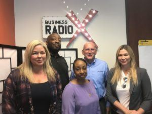 Amy Barbieri & Kristin Stafford with VITAL4DATA, Jerry & Kim Massey with theCoderSchool, and Doug Bates with CMIT Solutions
