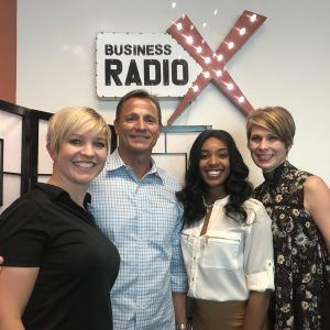 Jennifer Merritt with North Highland, John Cristiano & Amy Tully with Onelife Fitness, and Chelsea Sellars-Wilson with Eminence Guru LLC.