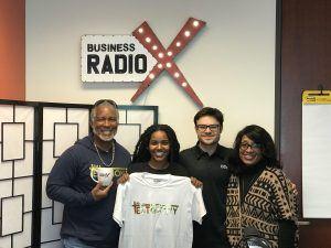Biz Radio U Featuring John McClung with I am a Testimony Clothing