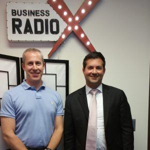 Erik Balkan with Synergy Business Consulting and Ronnie Agami with Universal Diamonds