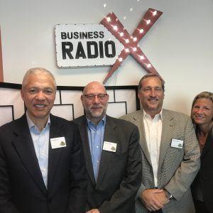 Cary Green, Everett Hill, and Greg Jungles with Twelve Oaks Advisors and Jennifer Levine Hartz with Corporate Hartz LLC