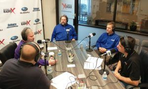 Dr. Zack Mills with Tiger Tails Animal Hospital and Jonathan Maguire with Foundation Worx
