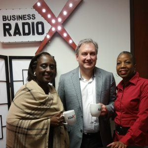 Jeremy Stratton and Lisa Smith with Clayton County Chamber of Commerce