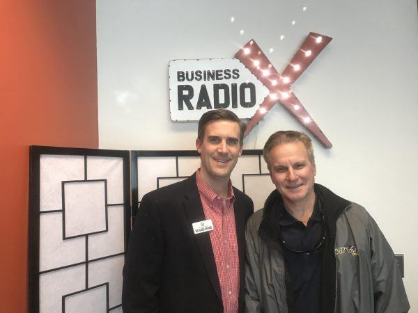Chris Beer With Our Town America And Richard Rehme With Intelligent Office    Business RadioX ®