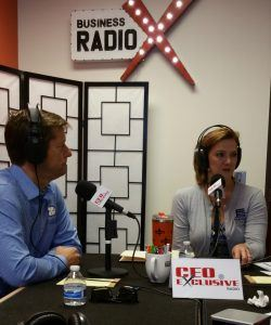 Scott Dockter with PBD Worldwide and Jan Jones with Freight Scouts
