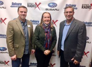 SIMON SAYS LET'S TALK BUSINESS: Anthony Shope with Halski Systems and Lori Snow with Condor Tours & Travel