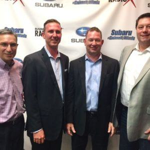 SIMON SAYS, LET'S TALK BUSINESS: Troy McCawley & Trevor McCawley with B.E. Technologies and Pete Hajjar with Prime Business Advisors