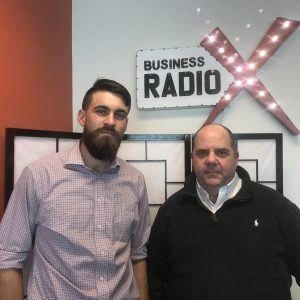 Alan George with Franchise Marketing Systems and Calvin Graves with Young Entrepreneurs