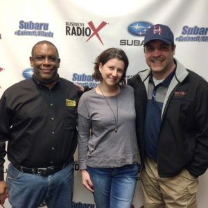 Julius Colbert with Dickey's Barbecue Pit and Nathan & Lana Davis with Tip Top Home Inspectors