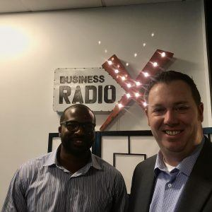 Rashawn Johnson with TriNet and Joe White with Brightlink IP
