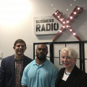 Steven Kronenberg with University of North Georgia – Mike Cottrell College of Business, Jane Beaudry with Master Executive Excellence, and Yura Bryant with Content Engagement Conversions