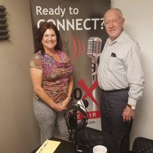 Michelle Faust with Rhino Online Strategies and eCreativity and Gordon Parkman with Achieve Results Consulting