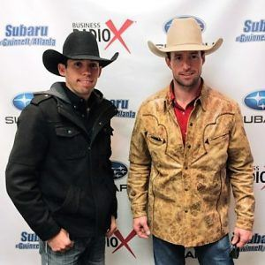 Professional Bull Riders (PBR) Sean Willingham and Bryan Titman