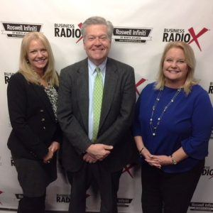 Stephanie Taylor with Atlanta Divorce Law Group and Deanna Dickinson with Reich Dental Center