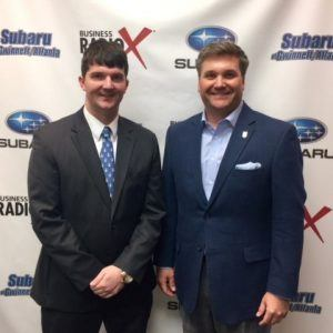 Travis Butler with Butler Properties and Josh Collins with Oconee State Bank