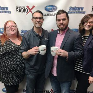 MEMBER SPOTLIGHT: Nicole Russell with Dave & Buster's Sugarloaf, Chris Reese & Parker Cain with VRX Games, and Taelar Bybee with Gwinnett Chamber of Commerce