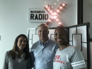 Mike Dickerson with ClickDimensions and Rachel Spasser with Accel-KKR