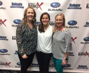 Leigh Futch & Michelle Versfeld from The Georgia Way and Kristi Greer from Oconee State Bank