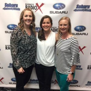 Leigh Futch & Michelle Versfeld with The Georgia Way and Kristi Greer with Oconee State Bank
