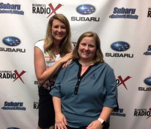 Delena Brockmann with Piedmont Athens Regional and Cristi Donahue with Oconee State Bank