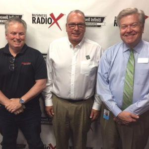 Jim Zavorski with Alpharetta Sign Company and Phil Wahl with Kale Me Crazy