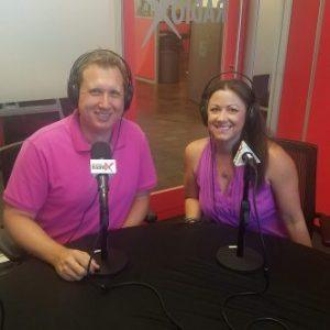 Deb Caron with Anahata Marketing and Adrian McIntyre with StoryProfit