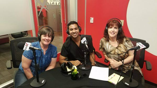 Dr-Neil-Fernandes-and-Beth-Lopez-with-Skin-Care-and-Cancer-Center-of-Arizona-on-Phoenix-Business-RadioX