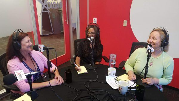 Kristi-Henry-and-Dr-Melanie-Dias-with-Michelle-Faust-on-Business-RadioX2