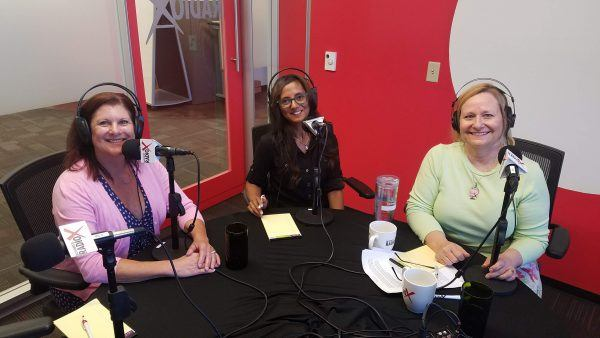 Kristi-Henry-and-Dr-Melanie-Dias-with-Michelle-Faust-on-Business-RadioX3