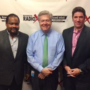 John Mamon with mPoweredIT and Reginald Turk with Forensic Home Inspections